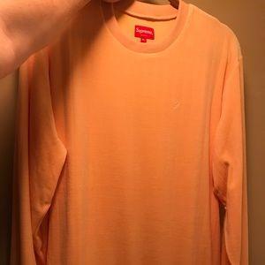 Supreme Small S Sweater Peach XL